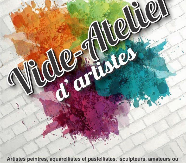 Vide-Atelier d'Artistes 2018