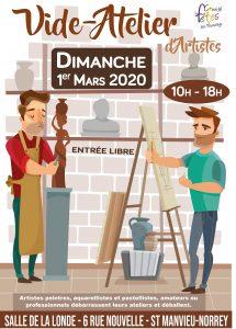 Vide-atelier d'artistes 2020